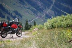 冒险摩托车 免版税图库摄影