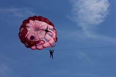 冒险极其帆伞运动体育运动 免版税库存照片