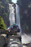 冒险概念本质旅行 免版税库存照片