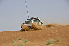 冒险沙漠 免版税库存图片