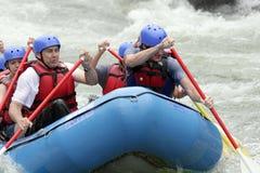 冒险用筏子运送 图库摄影