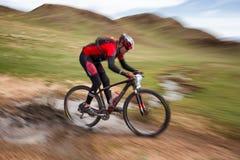 冒险登山车横越全国的马拉松 免版税图库摄影