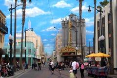冒险backlot加州迪斯尼好莱坞 库存照片