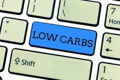 写低气化器的手写文本 概念意思制约碳水化合物消耗量减肥analysisagement饮食 库存图片