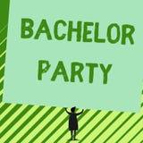 写文本单身聚会的词 为将结婚雄鹿夜的分析给的党的企业概念 向量例证