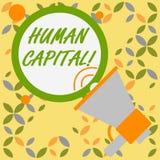 写文本Huanalysis资本的词 工作者s的经济价值的量化的企业概念是技巧 皇族释放例证