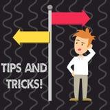 写显示技巧和把戏的笔记 企业照片陈列怎么可能意味片断忠告建议改进人 库存例证