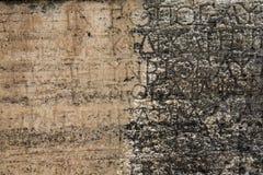 写电影脚本在一个坟茔在Hierapoli,代尼兹利, T北大墓地  免版税库存图片