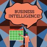 写笔记演艺界智力 信息企业照片陈列的最优方法优选 库存例证