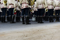 军乐队 免版税图库摄影