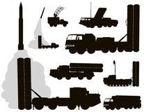 军事。防空 免版税库存照片