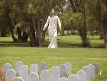 军事公墓在波哥大,哥伦比亚。 库存图片