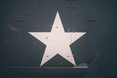 军事军队星 免版税库存图片