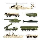 军事军队运输技术传染媒介战争坦克产业技术装甲系统装甲的军队职员伪装 库存例证