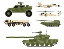 军事军队运输技术传染媒介战争坦克产业技术装甲系统装甲的军队职员伪装 向量例证