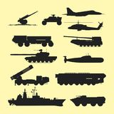 军事军队运输技术传染媒介战争坦克 皇族释放例证
