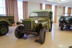 军事历史的博物馆的苏联武器展览, Verkhnyaya Pyshma,叶卡捷琳堡,俄罗斯, g 09 05 2016年 库存照片