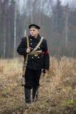军事历史节日的成员内战在俄罗斯 Northwest, 1919年 库存照片