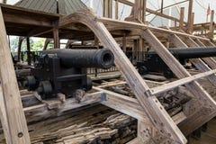 军事国家公园vicksburg 库存图片