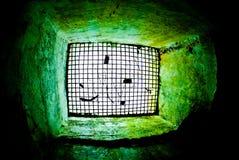 军事地下墓穴 库存图片