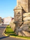 军事城楼 库存照片