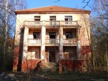 军事大厦废墟从第二场战争的 Armys大厦 图库摄影