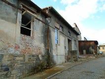 军事大厦废墟从第二场战争的 Armys大厦 免版税库存照片