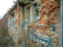 军事大厦废墟从第二场战争的 Armys大厦 库存图片