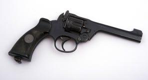 军事左轮手枪 免版税库存图片