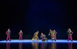 """军事情报报告孩子的北京Opera""""Yue teenager† 免版税库存图片"""