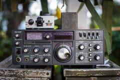 军事收音机 库存照片