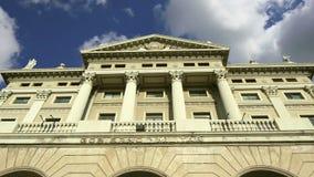 军事政府的大厦 巴塞罗那卡塔龙尼亚西班牙 影视素材