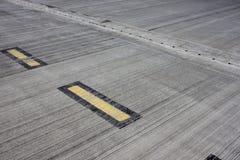 军事机场表面  库存图片