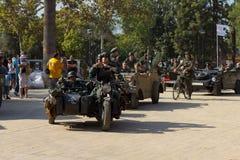 军事游行 图库摄影