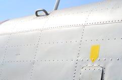 军事直升机伪装 军用飞机细节伪装 关于机体的看法与盘区线和梯度颜色 库存图片