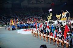 军事第1 2009艺术的亚运会 免版税图库摄影