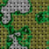 军事纹理在背景中 与伪装样式的被编织的织品 复发的伪装样式 免版税库存图片