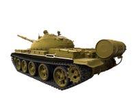 军事老坦克 免版税库存照片