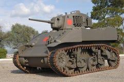 军事老坦克 库存照片