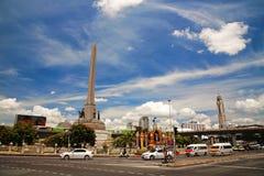 军事胜利纪念碑在曼谷 图库摄影
