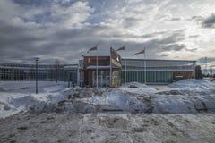 军事航空博物馆, gardermoen 免版税库存图片