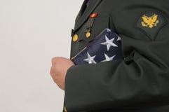 军事荣誉 库存照片