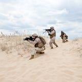 军事行动 库存图片