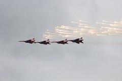 军事飞机 免版税库存照片
