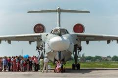 A-42军事水上飞机 库存照片