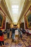 军事画廊1812在状态埃尔米塔日博物馆 库存图片