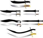 军刀剑 免版税库存照片