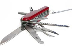 军刀样式瑞士 免版税库存照片