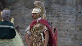 军团罗马战士 股票视频