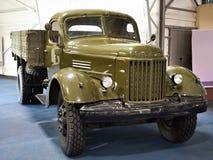 军用俄国卡车Zil-164 免版税库存照片